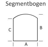 <b>KLEINING</b> Bodenplatte für Kaminofen (Segmentbogen)