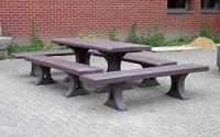hanit® Bank MIRA und Tisch MIRA