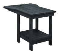C.R.P. Tete-a-Tete Tisch m. Schirm-Loch A12 für C01