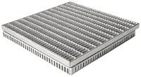 <b>ALTVATER</b> Einlaufroste für Rostrinnen Edelstahl (400x400mm)