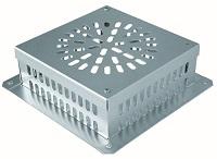 <b>ALTVATER</b> Kieskorb in Aluminium oder Edelstahl