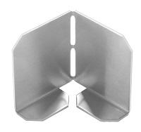 <b>ALTVATER</b> Eckverbinder zu Kiesfangleisten Aluminium