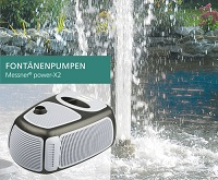 <b>MESSNER®</b> power-X2 Fontänenpumpen