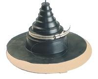 pipe/in  aus EPDM für Rohreinläufe 1 zoll - 6 zoll (Flansch)