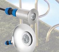 <b>AUGA</b> Einbau LED-Leuchten (Edelstahl)