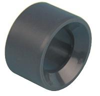 AQUIVA® PVC Reduktion, grau 10.00Stck./Pack  ,Abmessung ø mm:50 - 40mm K-K ,VE/Stck.:10