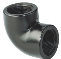 AQUIVA® PVC Winkel 90°, grau