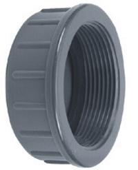AQUIVA® PVC Schraubkappe, grau