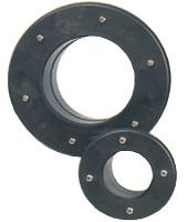 AQUIVA® PVC Tankkonnektor (stabile Ausführung), grau
