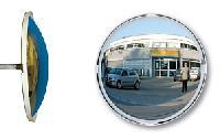 Mehrzweckspiegel P.A.S.® mit weißem Rahmen (3 Blickrichtungen)