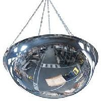 Panoramaspiegel PMMA / Deckenmontage (1/2 Kugel)