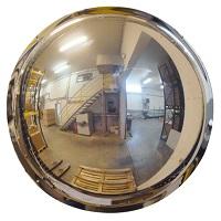 Polymir® Panoramaspiegel mit Wandmontage (1/2 Kugel)