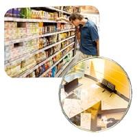 Ladenspiegel  Polymir� im Klein- und Gro�format