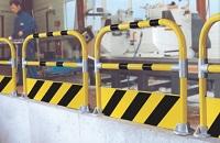 Schutzb�gel, Schutznadel und Pfosten (� 50 mm)