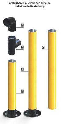 Schutzbügel AMORTISHOC® (Ø 76 mm)