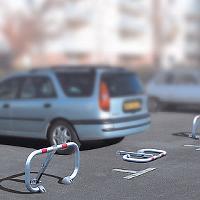 Parkplatzabsperrb�gel klappbar BPE