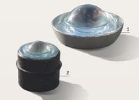 Glas Retro-Reflektierende Strassenbolzen
