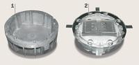 Runde SOLAR-Straßenbolzen mit Alu-Schutzhülse
