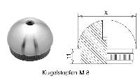 FACO Geländer-Stecksystem Handlaufhalter-Kappe