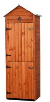 Holz Gartenschrank Piccolo
