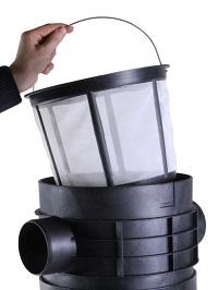 PLURAFIT Filter mit Filterkorb, Tankeinbau [INTEWA]