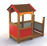 Haus mit Veranda [LARS LAJ]