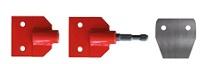 Einsteckwerkzeug (Schaberklingen, stumpf) für Turbo-Digger [MTM]