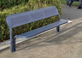 Sitzbank CONVI mit Rückenlehne