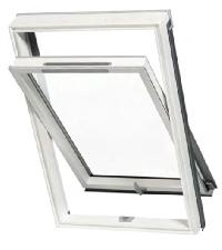 Kunststoff-Dachfenster AURA SILVER PVC