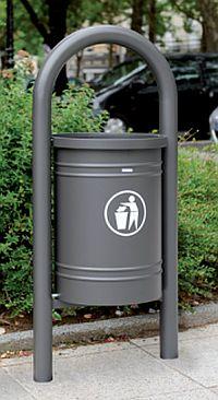 Abfallkorb VENEDIG 40 Liter, mit und ohne Eimer