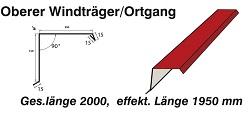 Ortgangblech 150/150 mm[Polmetal]