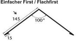 Polmetal First / Flachfirst