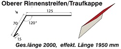 Oberes Traufblech [Polmetal]