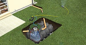 Platin Komplettpaket Garten Jet begehbar
