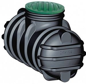 Erdtank/Flachtank 1.000 Liter inkl. PE-Deckel