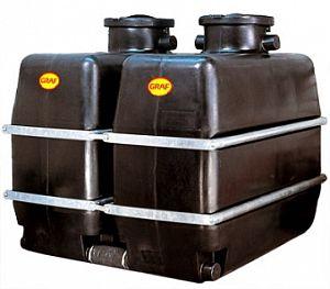 Kellertank 1.700 Liter, schwarz