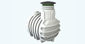 Diamant Trinkwasserspeicher (ohne Tankabdeckung)