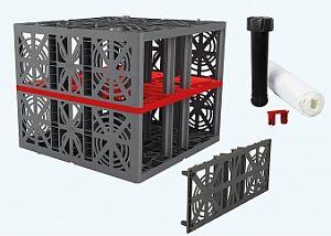 EcoBloc Komplettsets, Verlegevariante B-Blockverbund