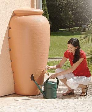 Amphoren Wandtank 350 Liter