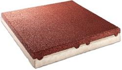 C+K-Gummi-Betonplatte