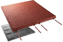 C+K-EPDM Fallschutzplatte 500x500x45mm