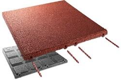 C+K-EPDM Fallschutzplatte 500x500x65mm