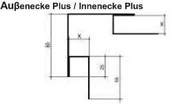 Aussenecke/Innenecke Plus [Polmetal]