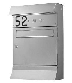 HEIBI Malypso-Fix Briefkasten mit Beleuchtung