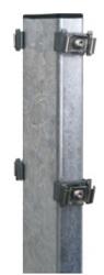 Gabionenpfosten mit Fussplatte Typ DPOF [AOS]