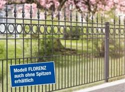FLORENZ Residenzen Klassik Schmuckzaun [AOS]