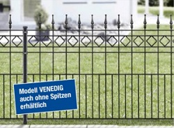 VENEDIG Residenzen Klassik Schmuckzaun [AOS]