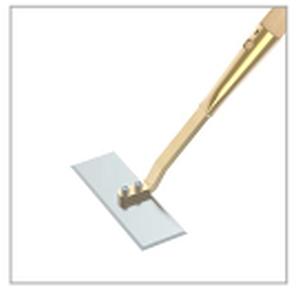 Profi-Rechteckschuffel (geh�rtet) mit auswechselbarem Blatt