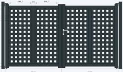 Aluminiumtor AluRange OREGON [AOS]