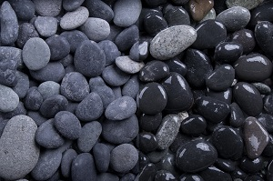 Beach Pebbles getrommelt